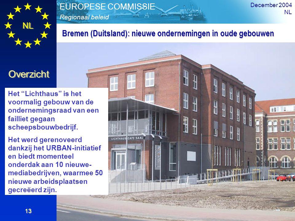 Bremen (Duitsland): nieuwe ondernemingen in oude gebouwen