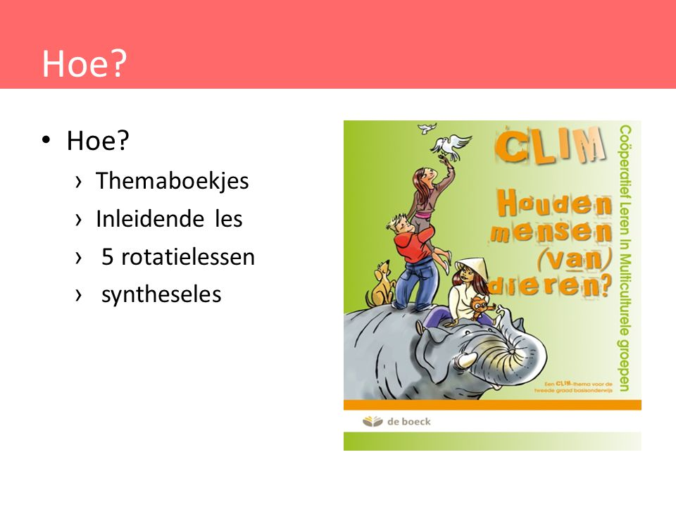 Hoe Hoe Themaboekjes Inleidende les 5 rotatielessen syntheseles