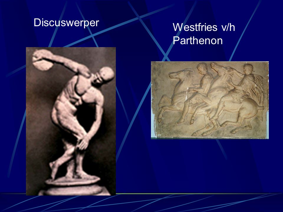 Discuswerper Westfries v/h Parthenon