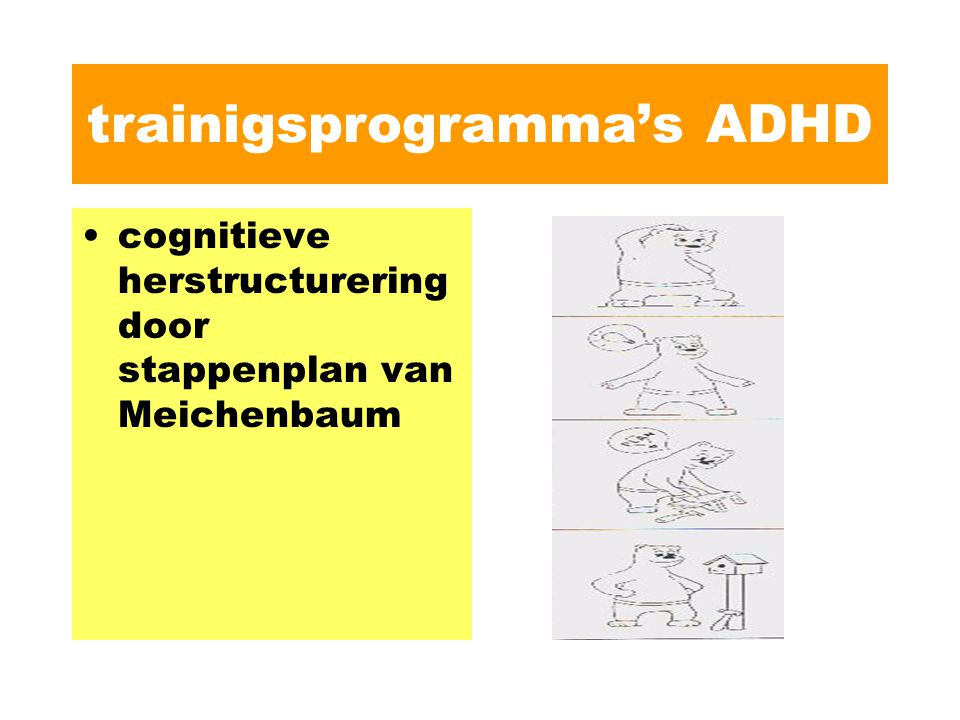 trainigsprogramma's ADHD