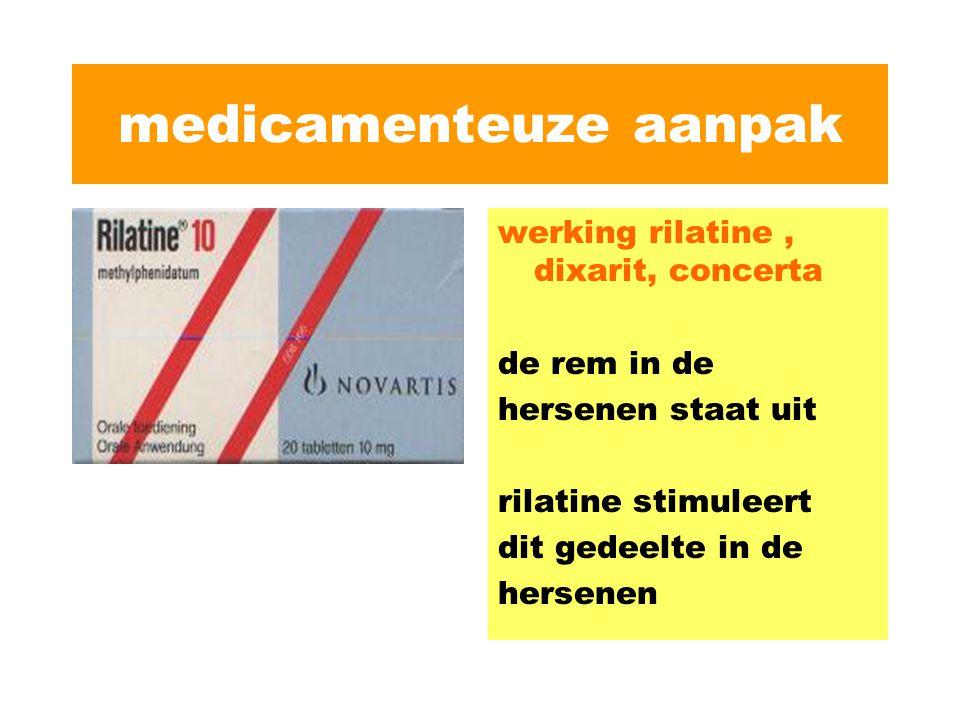 medicamenteuze aanpak