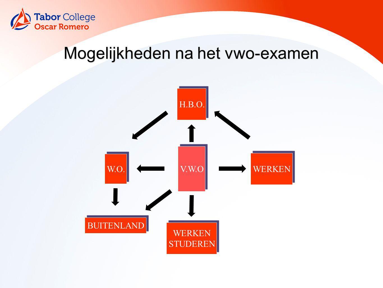 Mogelijkheden na het vwo-examen