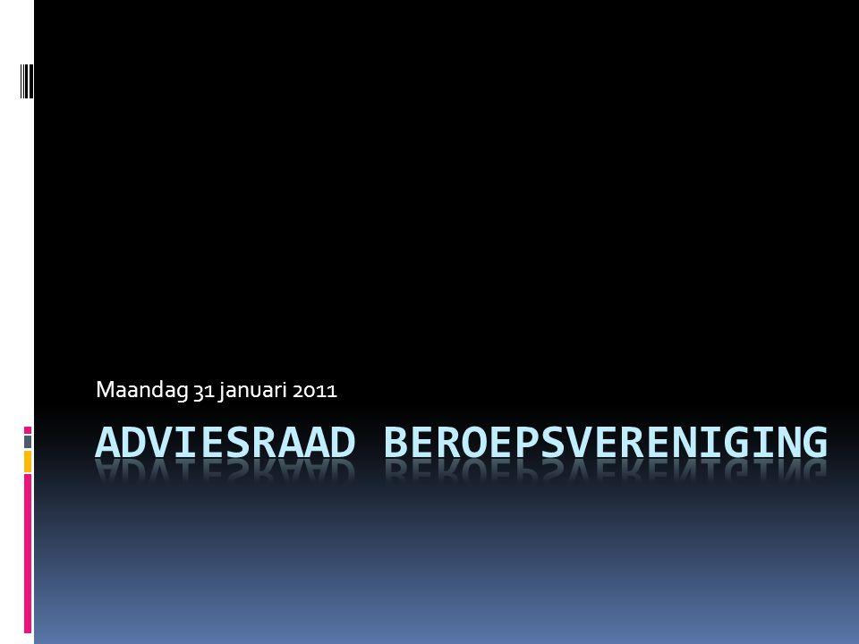 Adviesraad beroepsvereniging