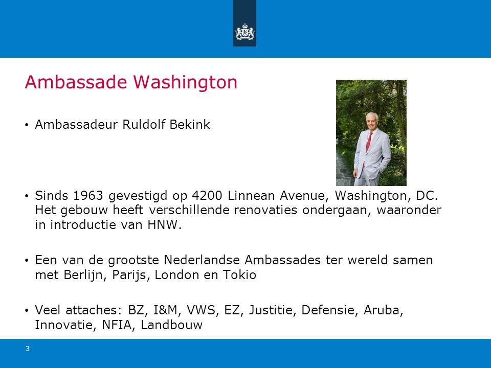 Ambassade Washington Ambassadeur Ruldolf Bekink