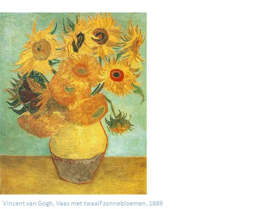 Vincent van Gogh, Vaas met twaalf zonnebloemen, 1889