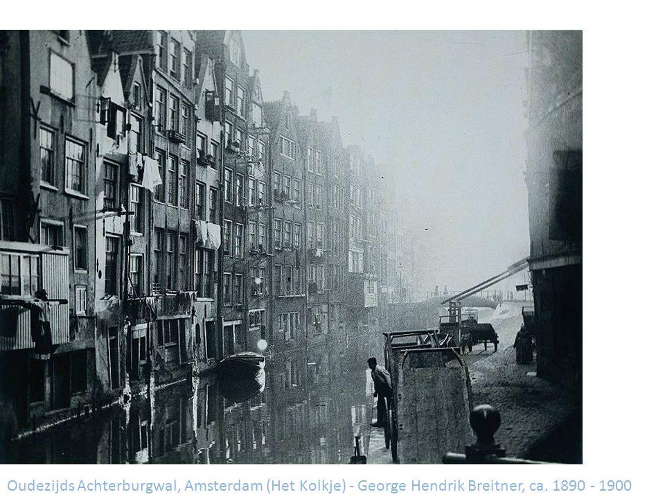 Oudezijds Achterburgwal, Amsterdam (Het Kolkje) - George Hendrik Breitner, ca. 1890 - 1900
