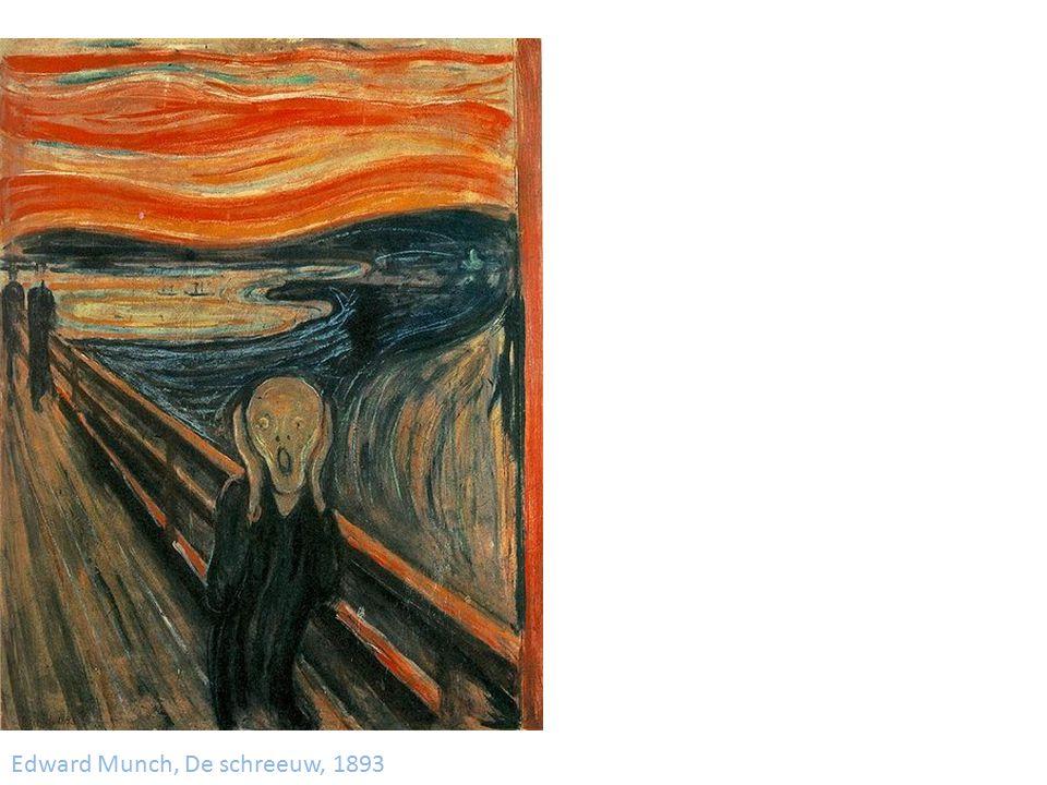 Edward Munch, De schreeuw, 1893