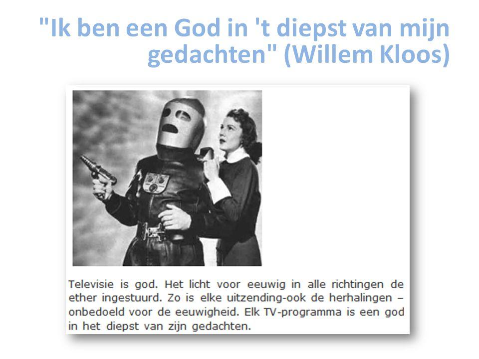 Ik ben een God in t diepst van mijn gedachten (Willem Kloos)