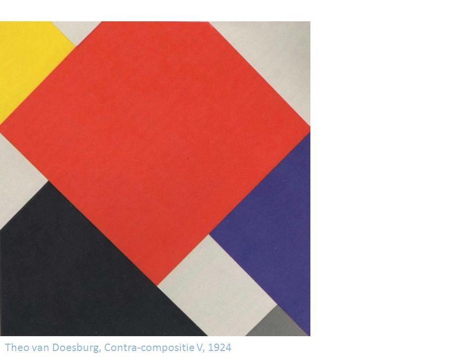 Theo van Doesburg, Contra-compositie V, 1924