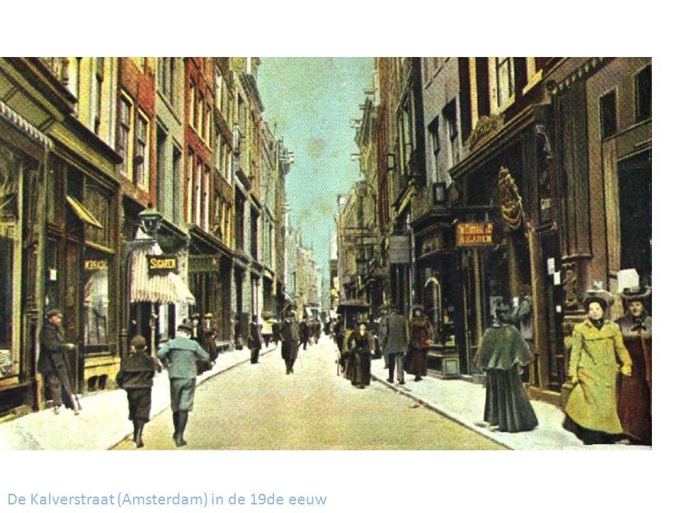 De Kalverstraat (Amsterdam) in de 19de eeuw