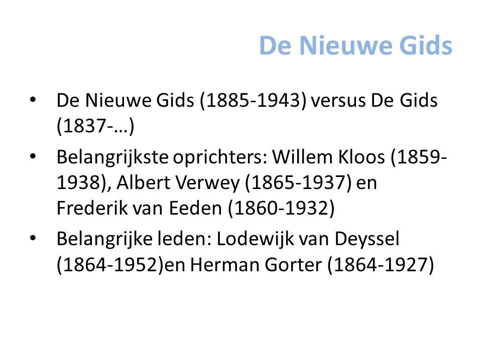 De Nieuwe Gids De Nieuwe Gids (1885-1943) versus De Gids (1837-…)