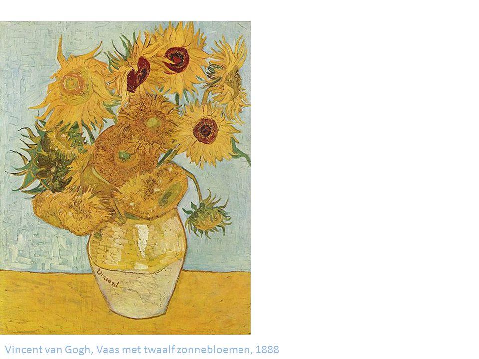 Vincent van Gogh, Vaas met twaalf zonnebloemen, 1888