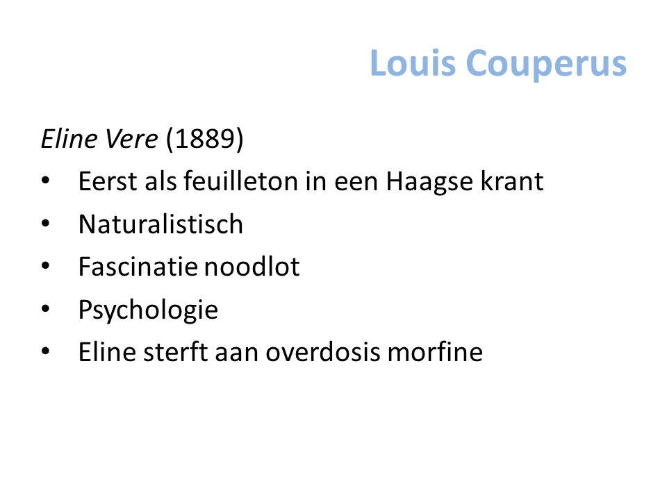 Louis Couperus Eline Vere (1889)