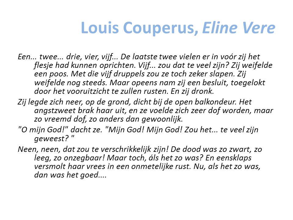 Louis Couperus, Eline Vere