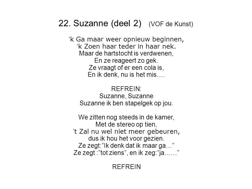 22. Suzanne (deel 2) (VOF de Kunst)