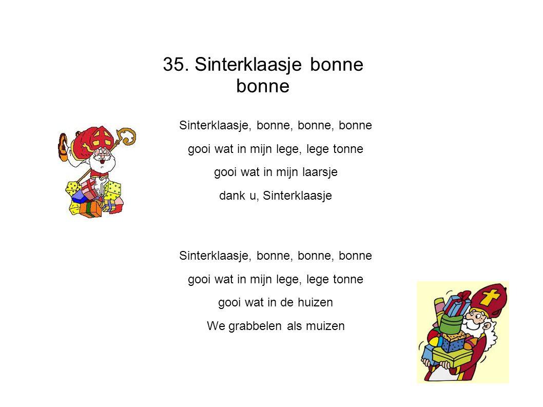 35. Sinterklaasje bonne bonne