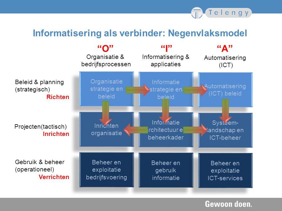 Informatisering als verbinder: Negenvlaksmodel