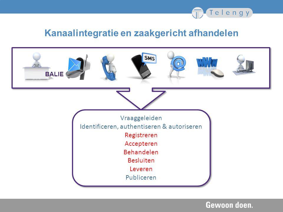 Kanaalintegratie en zaakgericht afhandelen