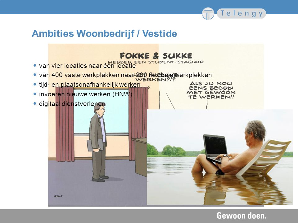 Ambities Woonbedrijf / Vestide