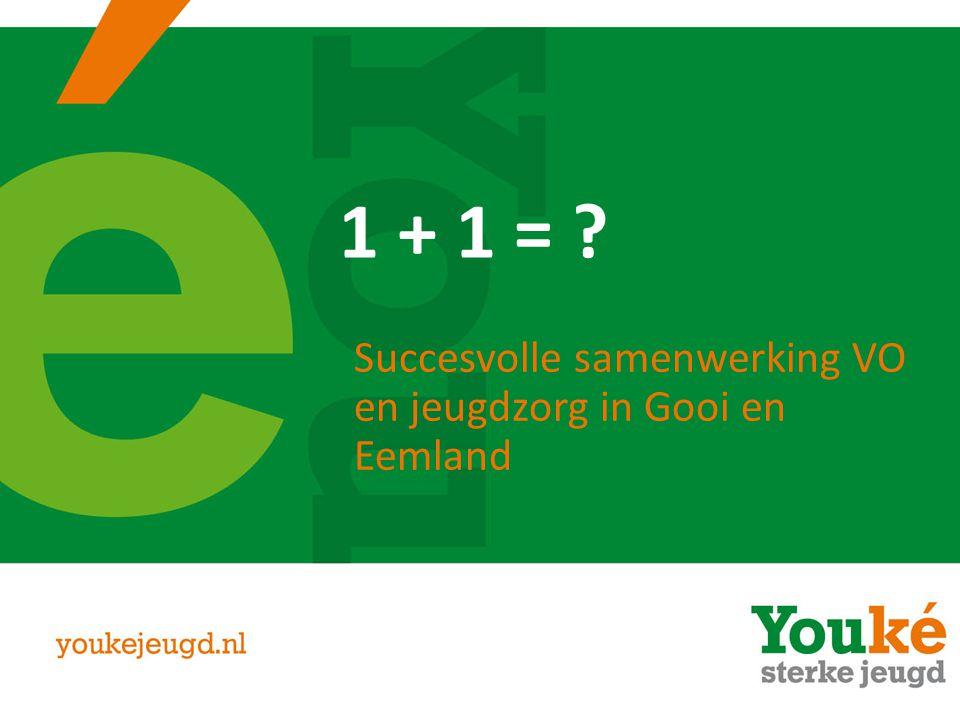 Succesvolle samenwerking VO en jeugdzorg in Gooi en Eemland