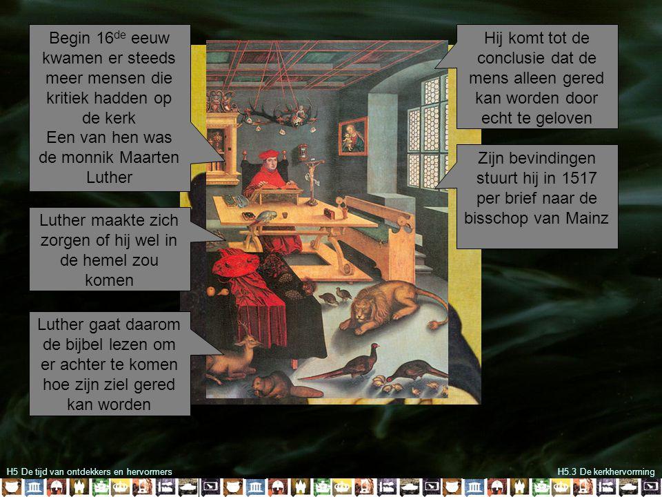 Een van hen was de monnik Maarten Luther