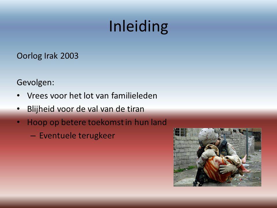 Inleiding Oorlog Irak 2003 Gevolgen: