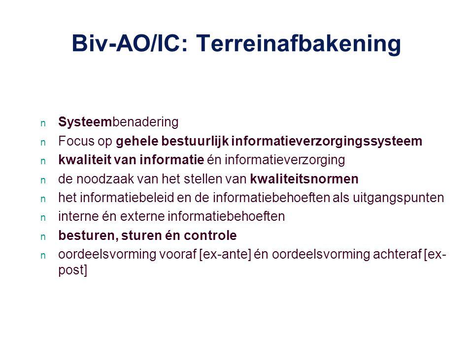 Biv-AO/IC: Terreinafbakening