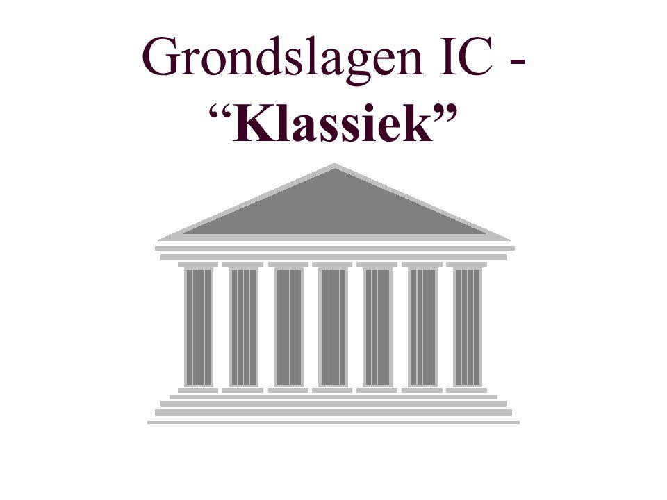 Grondslagen IC - Klassiek