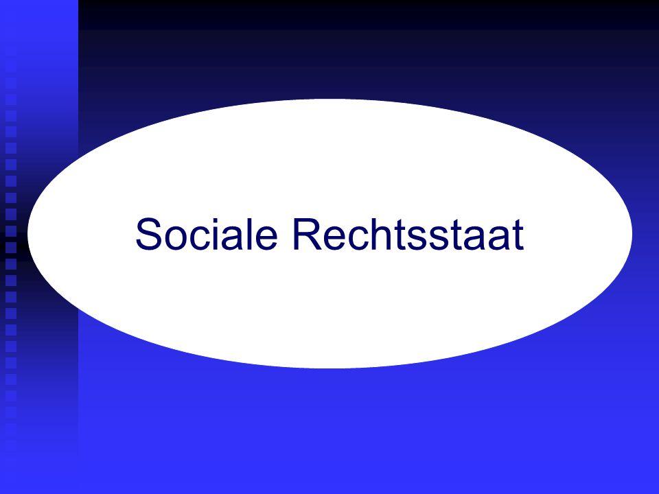 Sociale Rechtsstaat verzorgingsstaat rechtsstaat