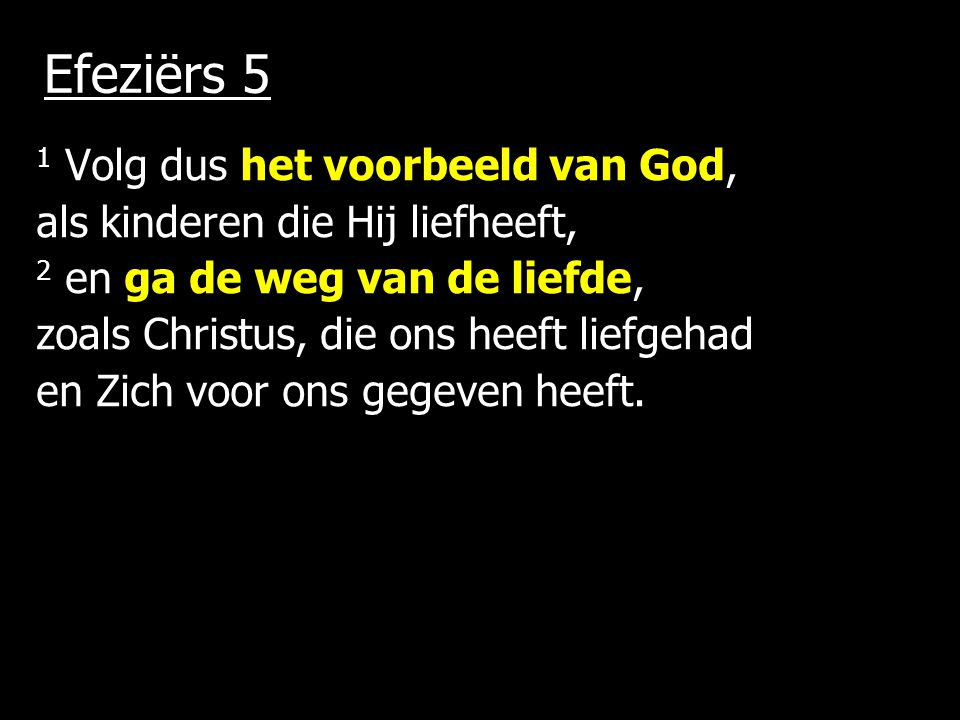 Efeziërs 5