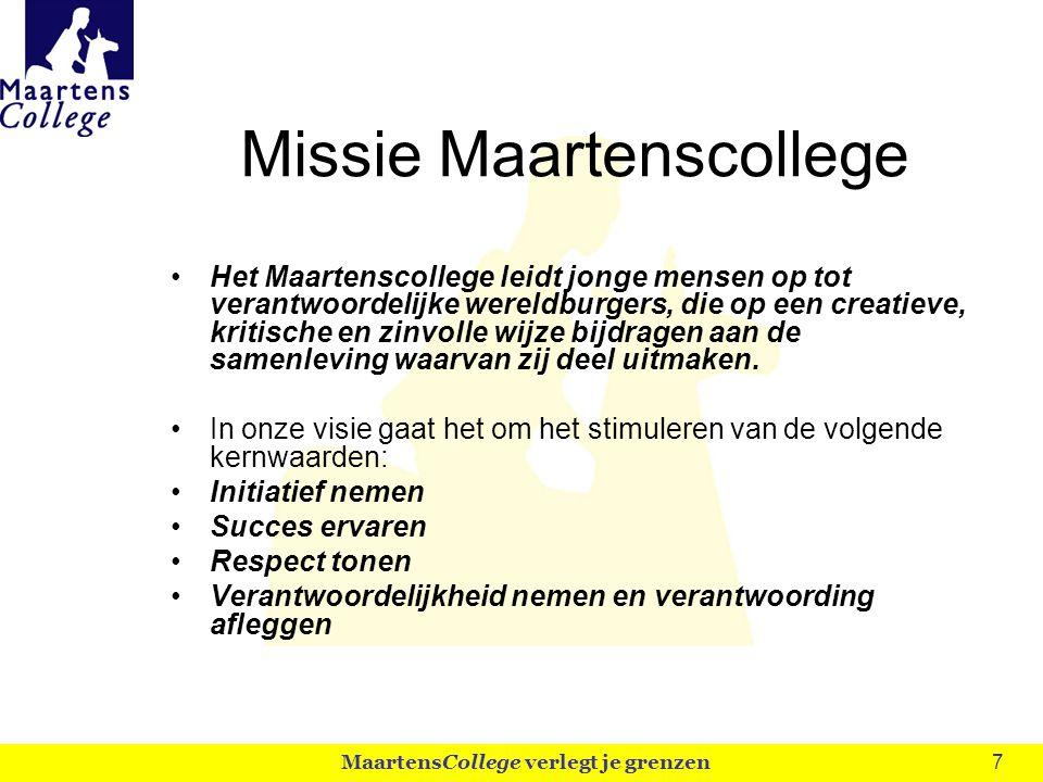 Missie Maartenscollege