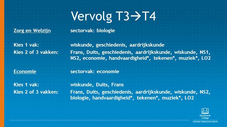 Vervolg T3T4
