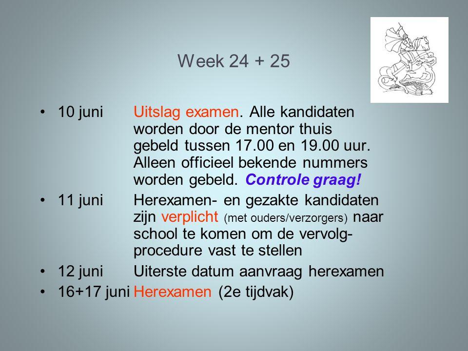 Week 24 + 25