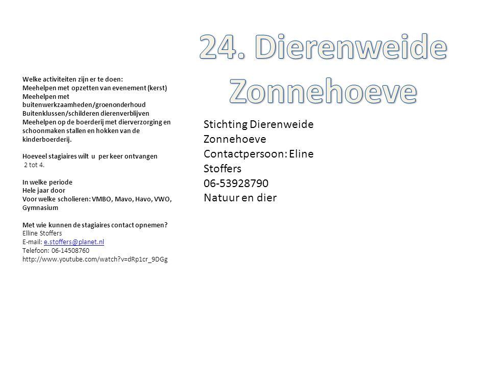 24. Dierenweide Zonnehoeve