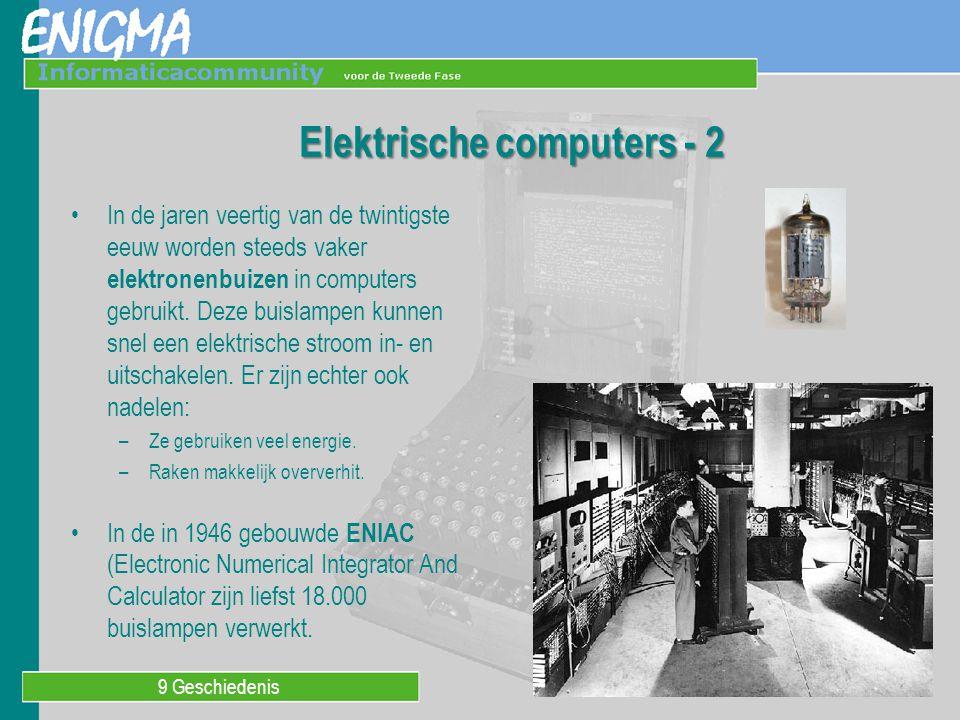 Elektrische computers - 2