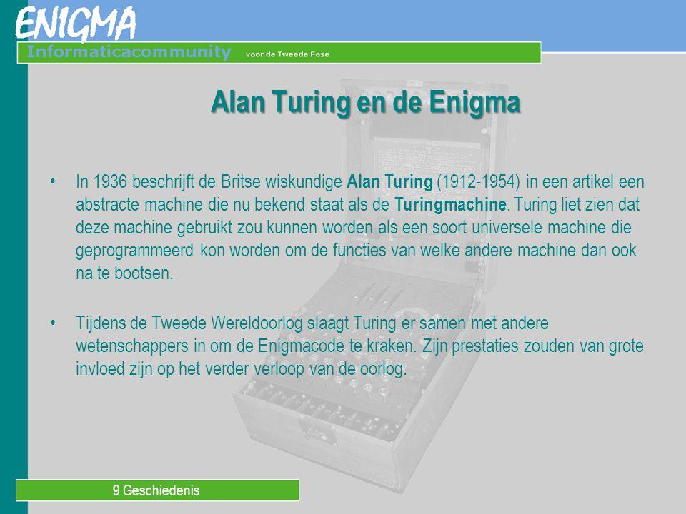 Alan Turing en de Enigma
