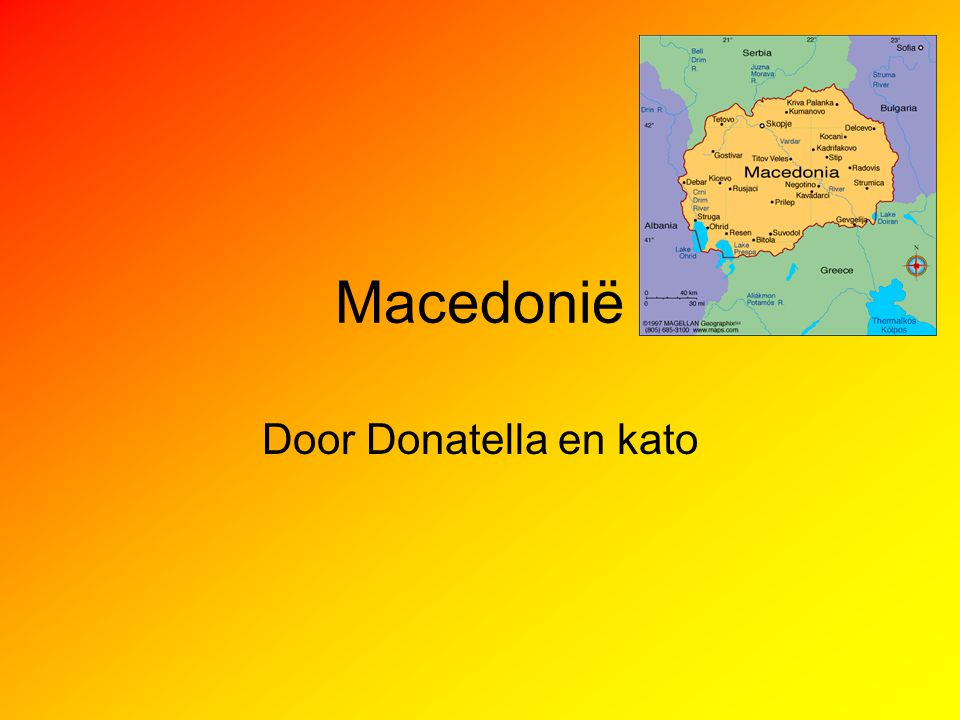 Macedonië Door Donatella en kato