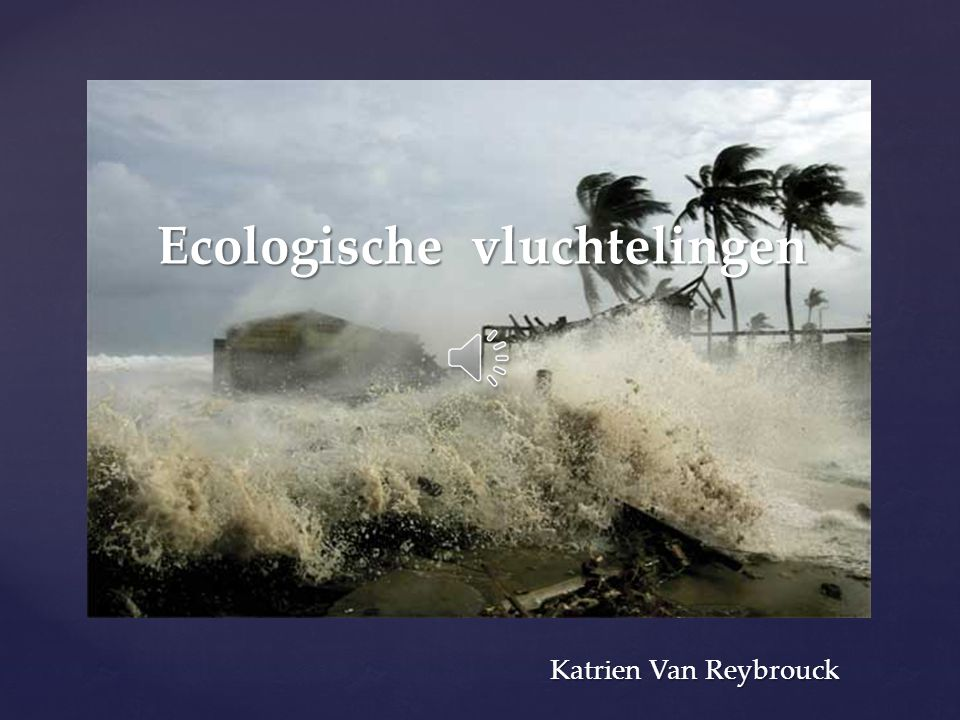 Ecologische vluchtelingen