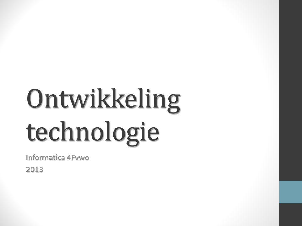 Ontwikkeling technologie