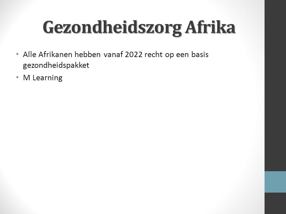Gezondheidszorg Afrika