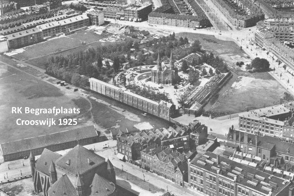 RK Begraafplaats Crooswijk 1925