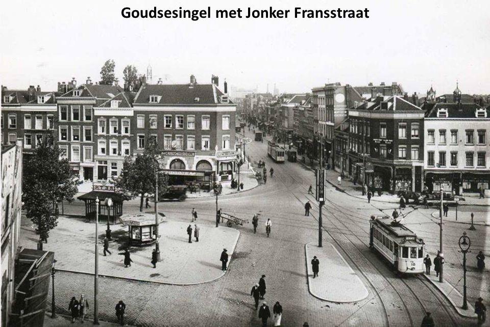 Goudsesingel met Jonker Fransstraat