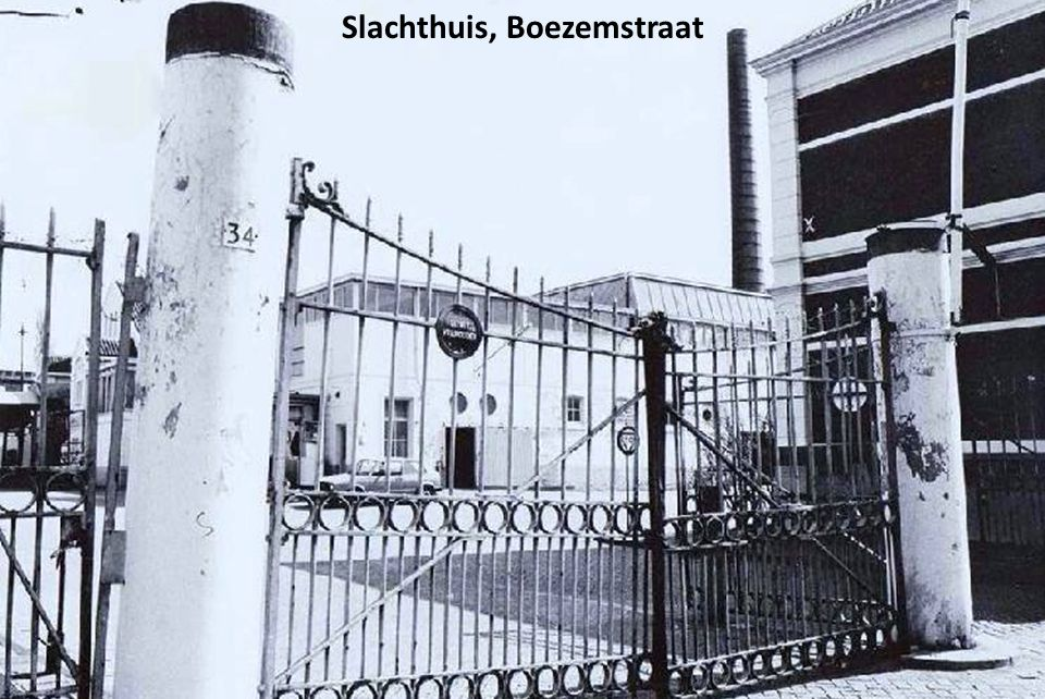 Slachthuis, Boezemstraat