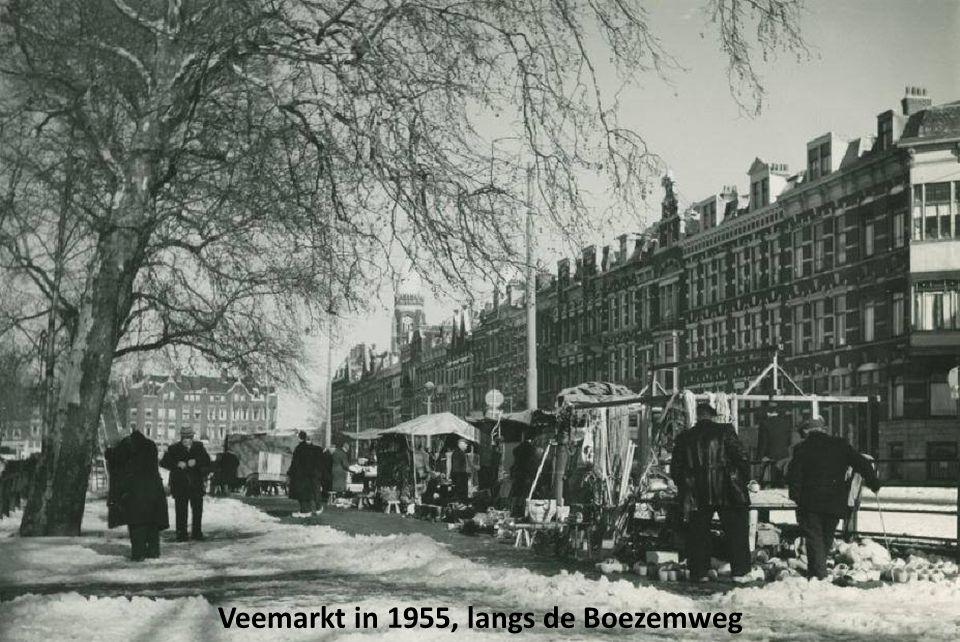 Veemarkt in 1955, langs de Boezemweg