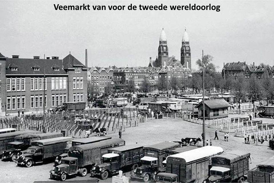 Veemarkt van voor de tweede wereldoorlog