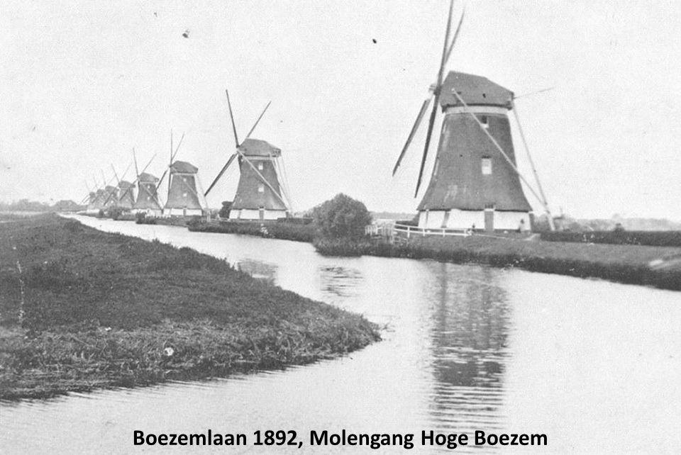 Boezemlaan 1892, Molengang Hoge Boezem
