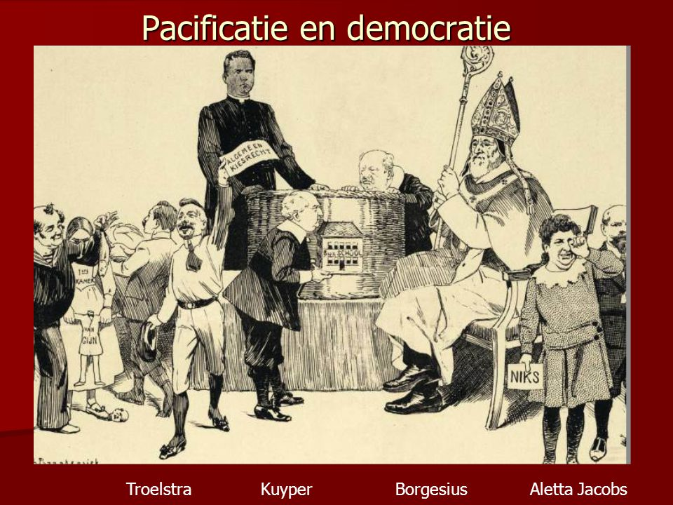 Pacificatie en democratie