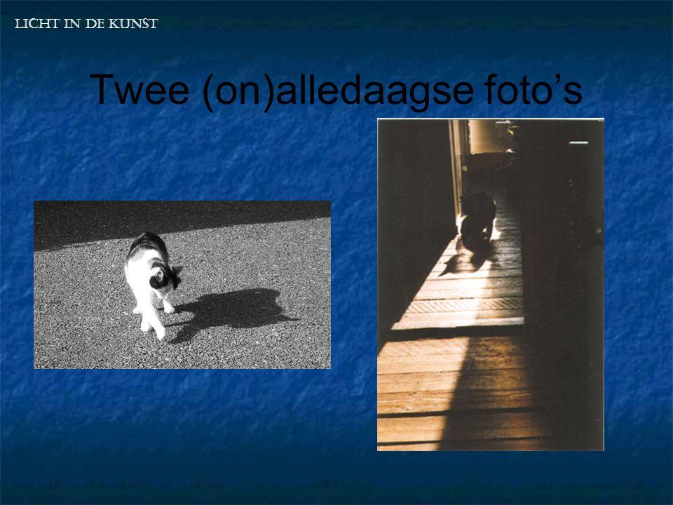 Twee (on)alledaagse foto's