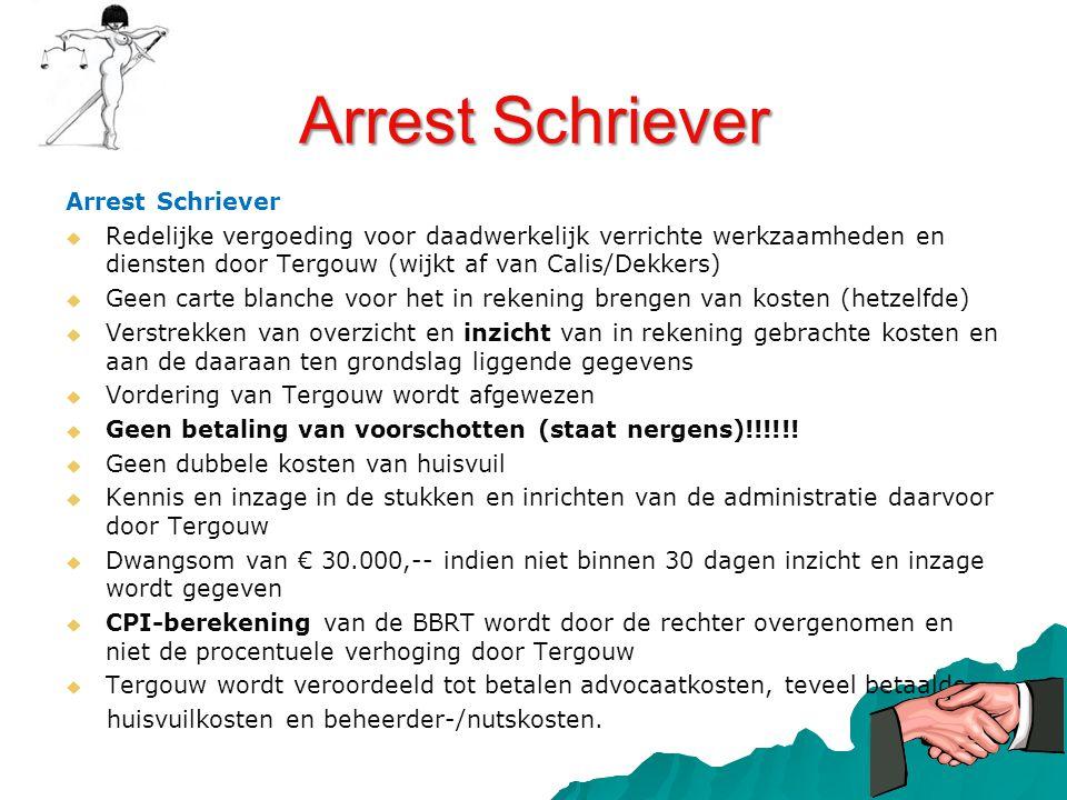 Arrest Schriever Arrest Schriever
