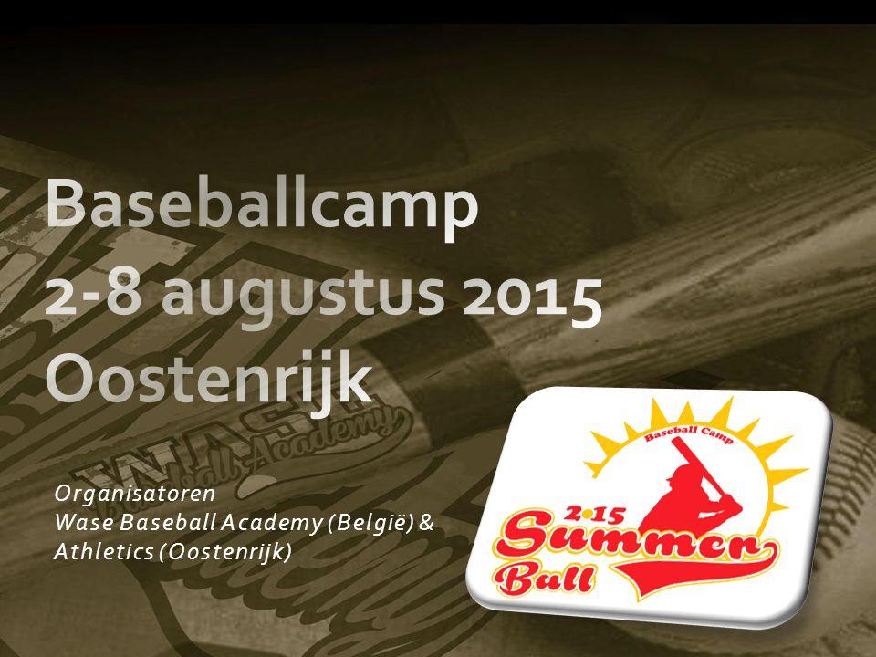 Baseballcamp 2-8 augustus 2015 Oostenrijk